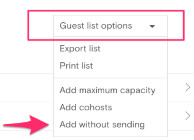 ... Email Address, But Manually Adding A Guest Will Not Send The Invitation  To This Guest. If You Donu0027t Have An Email Address, You Can Enter A Fake  Email ...